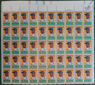 #2016 20c Jackie Robinson, VF OG NH, Full Sheet, Post Office Fresh, STOCK PHOTO!
