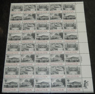 #2019-2022 20c Architecture, VF OG NH, Full Sheet, Post Office Fresh, STOCK PHOTO!