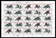 #3019 - 23, 32c Antique Autos,  Sheet, STOCK PHOTO