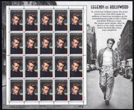 #3082, 32c James Dean,  Sheet, STOCK PHOTO