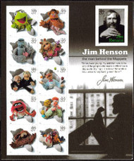 #3944, 37c Muppets,  Sheet-Stock Photo - you will receive a comparable stamp