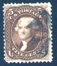#  76a F/VF,  terrific color, nice cancel, Fresh!