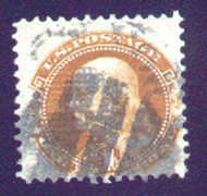 # 112 F/VF, nicely centered,  fresh stamp