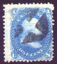 #  86 Fine,  nice large stamp,  minor faults,  nice appearance
