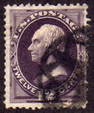 # 162 F/VF,  nice large margins, NYFM cancel,
