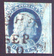#   9 VF, used sheet margin at right nice