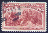 # 242 F/VF, nice light cancel,  good color