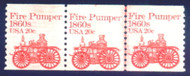 #1908 Plate no. 2, F/VF OG NH, number at top and bottom