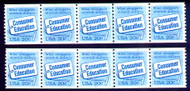 #2005 Plate No. 3 and 4, VF USED, scarce