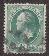 # 207 VF/XF, nice margins, fresh stamp