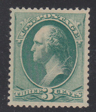 # 207 XF OG NH, w/PSE (GRADED 90 (09/09)) and PF (03/99) CERTS,  big stamp, very fresh color, stellar condition.  GEM!