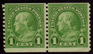 # 597 F/VF OG NH Pair, Rich Color! (Stock Photo - You will receive a comparable stamp)