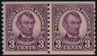 # 600 F/VF OG NH Pair, Great Color on the Pair!