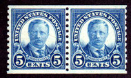 # 602 F/VF OG NH Pair, Very Bold! (Stock Photo - You will receive a comparable stamp)