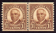 # 686 F/VF OG NH Line Pair, Nice and Rich! (Stock Photo - You will receive a comparable stamp)