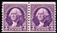 # 721 F/VF OG NH Pair, Rich! (Stock Photo - You will receive a comparable stamp)