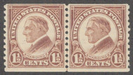 # 598 F/VF OG NH Line Pair, Rich Color! (Stock Photo - You will receive a comparable stamp)