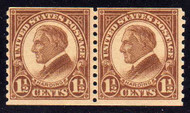 # 598 F/VF OG NH Pair, Rich Color! (Stock Photo - You will receive a comparable stamp)