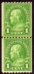 # 604 F/VF OG NH Line Pair, Rich Color! (Stock Photo - You will receive a comparable stamp)