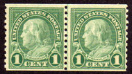 # 597 F/VF OG NH Line Pair, Nice and Crisp! (Stock Photo - You will receive a comparable stamp)