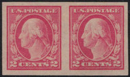 # 482 F/VF OG NH Pair, Bold! (Stock Photo - you will receive a comparable stamp)