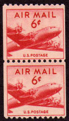 #C 41 F/VF OG NH Pair, Bold! (Stock Photo - You will receive a comparable stamp)