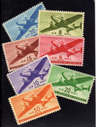 #C 25 - C 31 F/VF OG NH, Nice Set!  (Stock Photo - You will receive a comparable stamp)