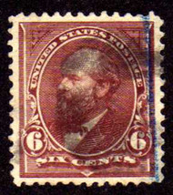 # 256 VF/XF, big stamp, small thins, nice looking