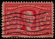 # 324 F/VF used, Eye popping color!