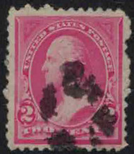 # 248 F/VF used, Bold Color!, No flaws!