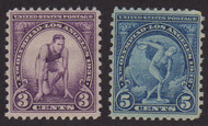 # 718 , 719 F/VF OG NH, Fresh Set! (Stock Photo - You will receive a comparable stamp)