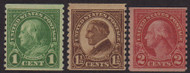 # 597 - 599 F/VF (or better) OG NH, Nice Set! (Stock Photo - You will receive a comparable stamp)