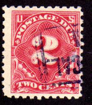 #J 60 F/VF, terrific color and cancel, nice