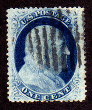 #  24 VF/XF, nicely centered, fresh color, select