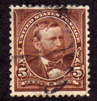 # 270 XF-SUPERB, nice rich color, select stamp!