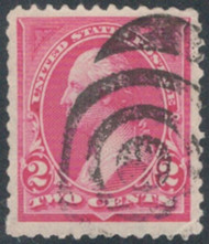 # 248 SUPERB JUMBO, creases, An Amazing Stamp!