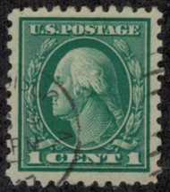 # 424 VF/XF, faint cancel, Select Used Stamp!