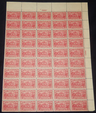 # 644 2c Burgoyne, VF to XF OG NH, One stamp SUPERB, Post Office Fresh, Full Sheet of 50, SUPER!