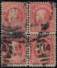 # 509 VF, Block, very fresh block,  rare!