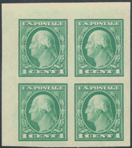 # 481 VF/XF OG NH, Upper Left Corner Block, Neat Item!