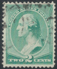 # 213 VF/XF, select stamp, Choice!