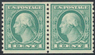 # 452 XF-SUPERB OG NH, Pair, nearly perfectly centered, GEM!