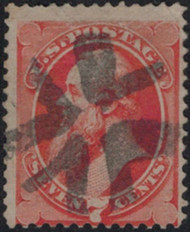 # 138 Fine, super color and lovely cancel, nice price