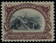 # 298 VF OG NH, very fresh color and impression. Choice!