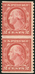# 540a F/VF OG NH, Imperf Between Pair, Nice color!