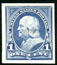 # 247P4 SUPERB, proof on card board, very nice!