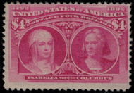 # 244 F/VF OG VLH, super fresh color, nice stamp!