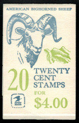 #1949a BK142, Plate 20, VF NH, VERy RARE Number!, Super Fresh!  (we also have booklets with guidelines and plate numbers on bottom, ASK!