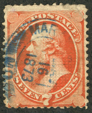 # 138 Fine, blue datestamp, super nice!