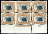 # 296 F/VF OG NH, post office fresh, Super Color, RARE